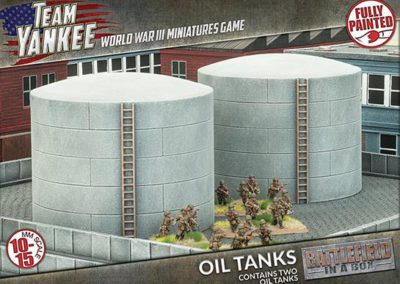 BB190 Oil Tanks (front)