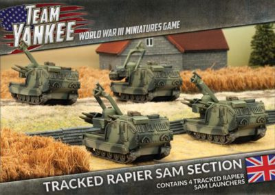 TBBX07 Tracked Rapier SAM Section (front)