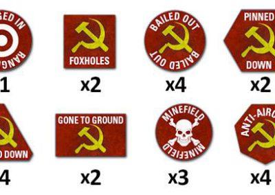 TTK02 TY Soviet Token Set