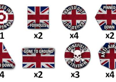 TTK04 TY British Token Set