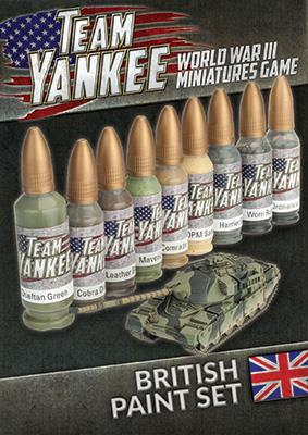 TYP193 British Paint Set